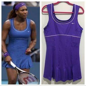 Nike Dri Fit Serena Williams tennis dress purple